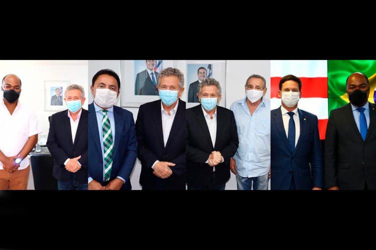 Deputados do PDT se reúnem com governos Rui e Bolsonaro   Foto: Reprodução - Foto: Reprodução / Instagram