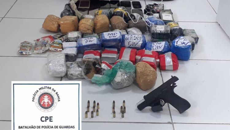 Em outra ação, logo na sequência, um homem armado foi preso nas localidades | Foto: Divulgação | PM-BA - Foto: Divulgação | PM-BA