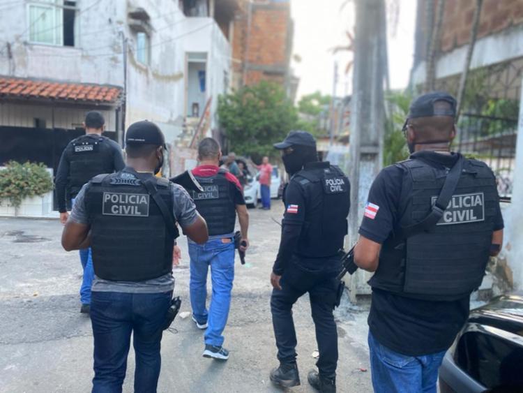 Grupo é apontado como responsável pelo latrocínio de um homem no ano passado - Foto: Divulgação: SSP