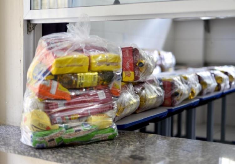 Previsão é de que sejam 161 mil cestas entregues ao público alvo   Foto: Jefferson Peixoto   Secom PMS - Foto: Jefferson Peixoto   Secom PMS