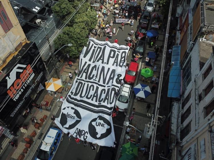 Lideranças partidárias divergiram sobre as manifestações de rua do último sábado   Foto: Álvaro Lemos   Ascom - Foto: Álvaro Lemos   Ascom
