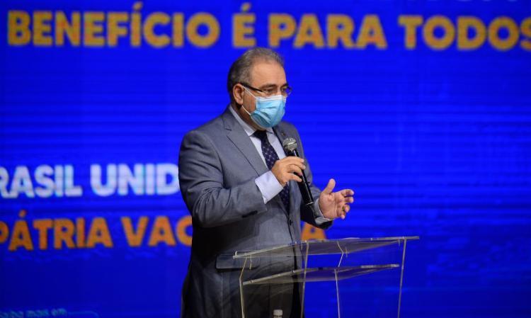Botucatu abriu hoje vacinação em massa da população para pesquisa | Foto: Marcello Casal Jr | Agência Brasil - Foto: Marcello Casal Jr | Agência Brasil