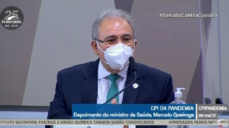 Ministro foi ouvido na manhã desta quinta-feira, 6 - Foto: Reprodução | TV Senado
