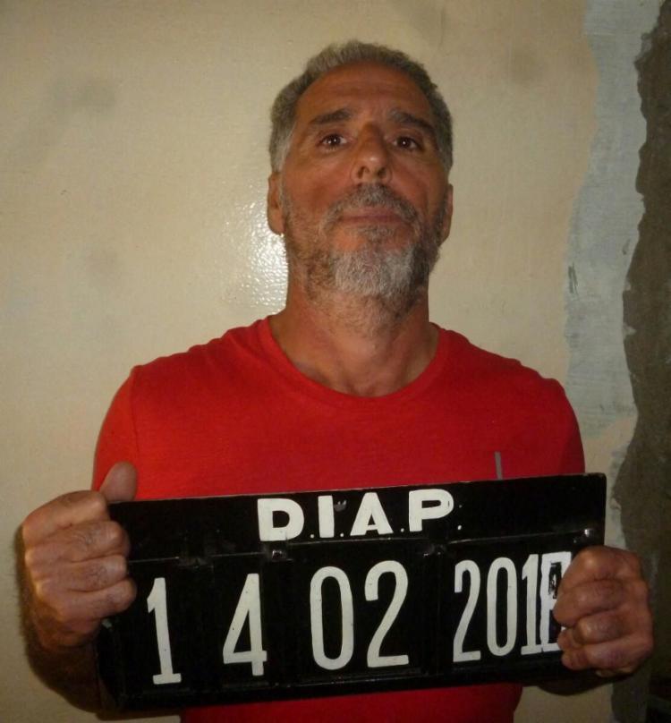 O italiano Rocco Morabito foi localizado em um quarto de hotel, em João Pessoa. - Foto: AFP