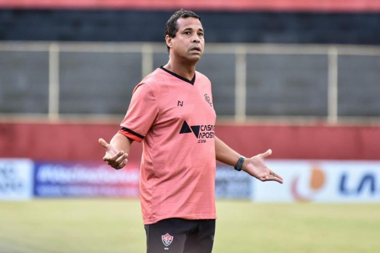 Rodrigo Chagas alega ter sido demitido em junho; Clube alega que ele ainda é funcionário   Foto: Pietro Carpi   EC Vitória - Foto: Pietro Carpi   EC Vitória