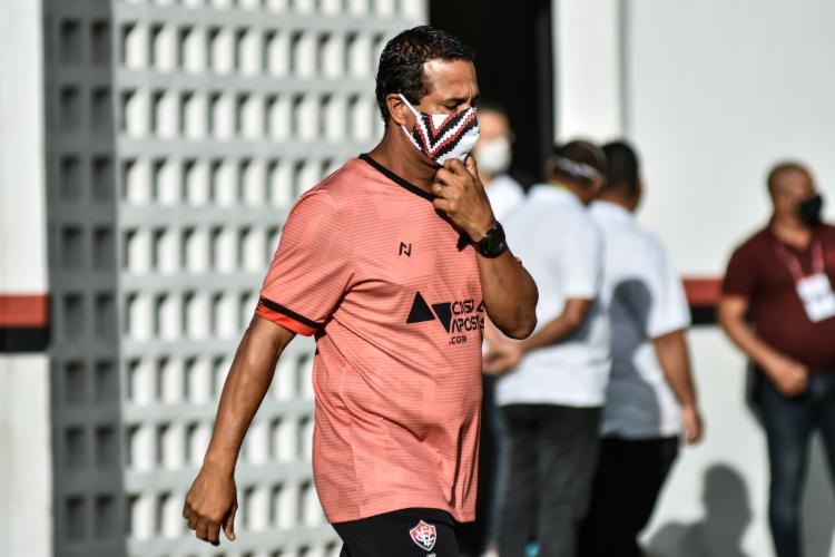 Treinador espera que time evolua durante pausa nas competições   Foto: Pietro Carpi   E.C.Vitória - Foto: Pietro Carpi   E.C.Vitória