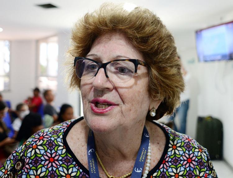 Rosina Bahia Alice Carvalho dos Santos, presidente de honra da Liga Álvaro Bahia contra a Mortalidade Infantil | Foto: Shirley Stolze | Ag. A TARDE | 14.11.2019 - Foto: Shirley Stolze | Ag. A TARDE | 14.11.2019