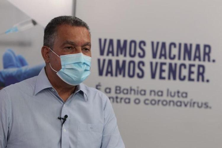 Governador descartou a possibilidade de haver público em jogos, algo pleiteado pela Conmebol - Foto: Camila Souza I GOVBA
