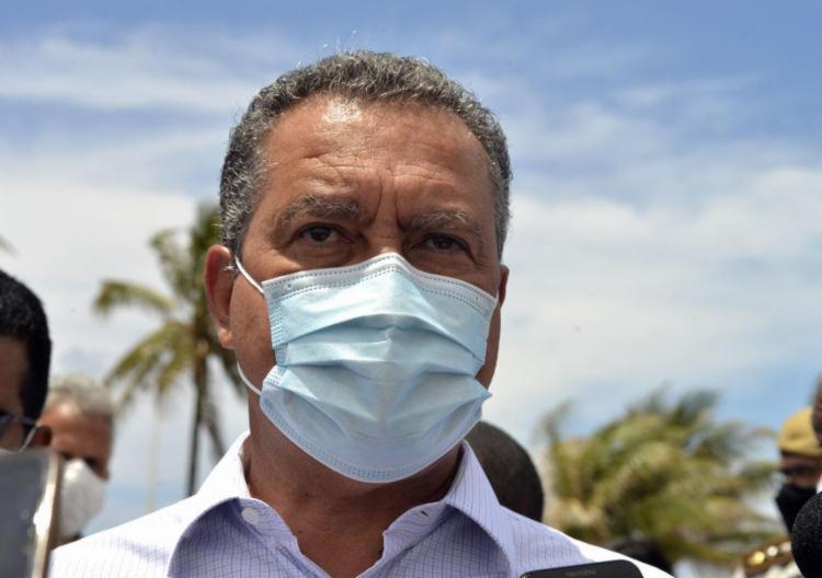 O governador explicou que a retomada depende da redução dos casos de coronavírus | Foto: Ag. A TARDE - Foto: Ag. A TARDE