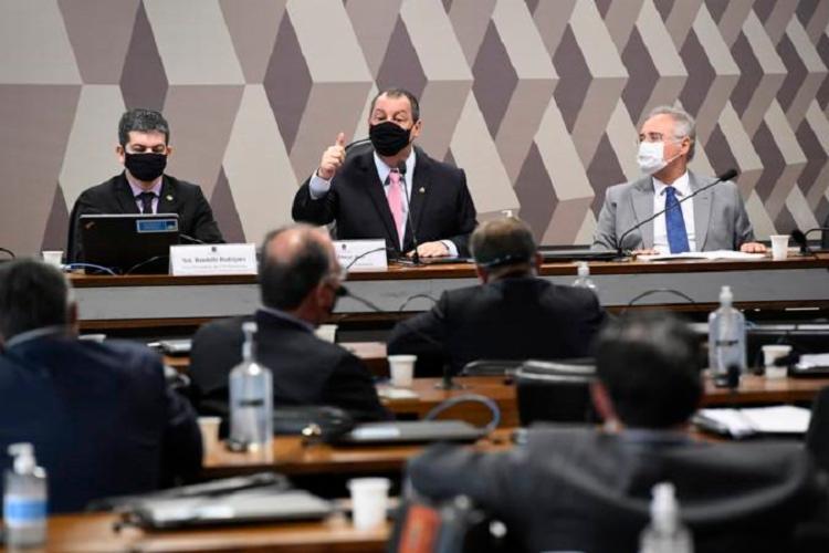 Sessão da CPI da Covid no Senado - Foto: Jefferson Rudy I Agência Senado