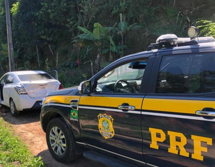 O crime teria acontecida na última segunda-feira, mas a criança já foi encontrada e está com a família | Foto: Divulgação | PRF - Foto: Divulgação | PRF