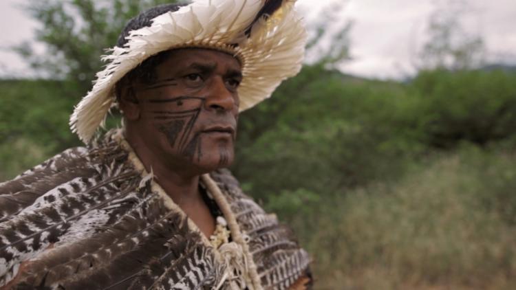 Cacique da etnia Imboré, aldeia localizada no município de Ribeirão do Largo - Foto: Divulgação