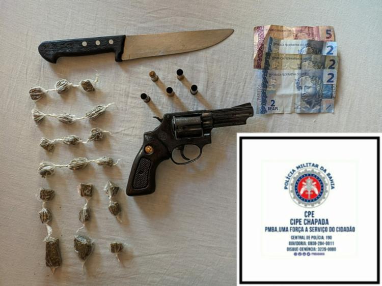 Armas e drogas também foram apreendidas nas ações | Foto: Divulgação - Foto: Divulgação