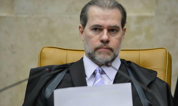 Ministro Dias Toffoli atuando na Corte do STF - Foto: Fabio Rodrigues Pozzebom/Agência Brasil