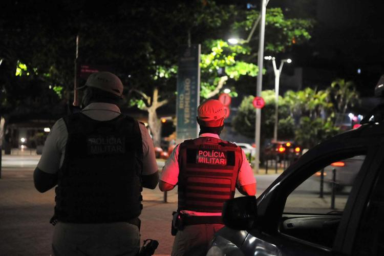 Toque de recolher passa a valer a partir da meia noite indo até às 5h da manhã - Foto: Felipe Iruatã | Ag A TARDE | 17.2.2021