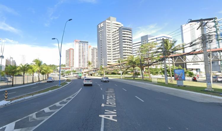 Sábado, 8, apenas uma faixa estará liberada para o tráfego. No domingo, 9, haverá o bloqueio total de um trecho da avenida I Foto: Google Maps - Foto: Google