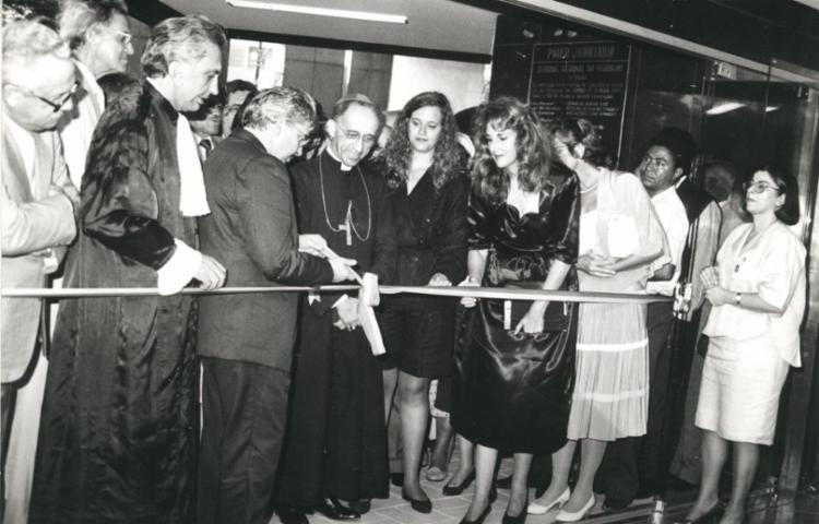 Com a crescente demanda, o TRT5 inaugurou uma nova sede