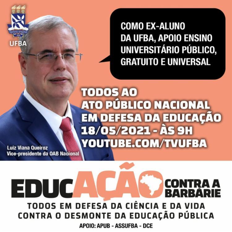 Luiz Viana Queiroz - Vice-presidente da OAB Nacional