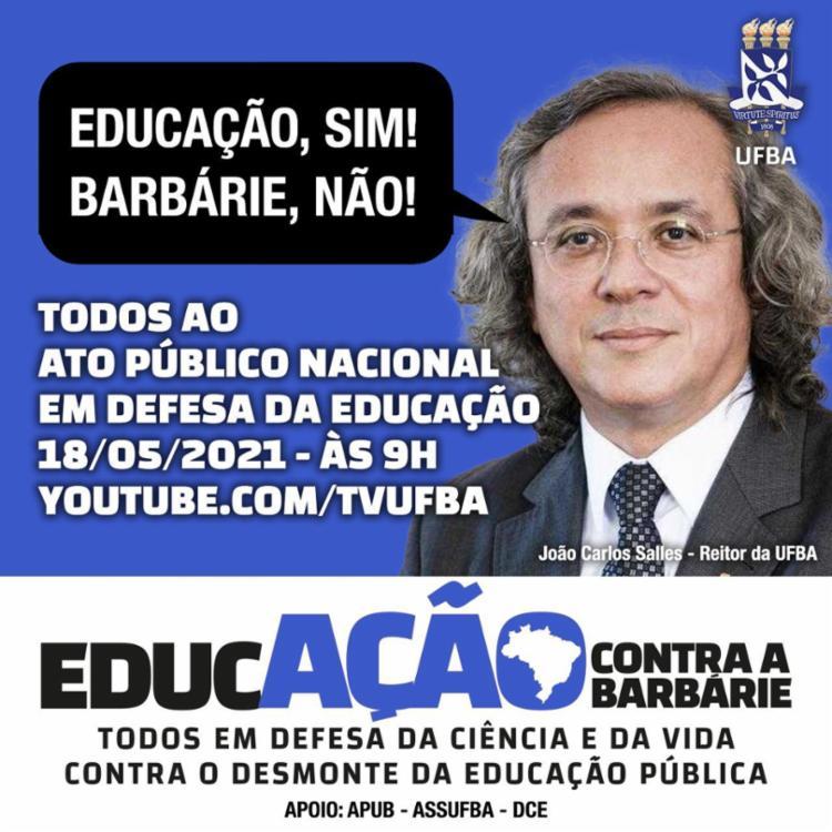 João Carlos Salles - Reitor da Ufba