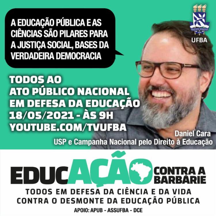 Daniel Cara - USP e Campanha Nacional pelo Direito à Educação