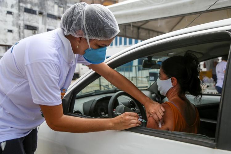 Confira a programação da imunização desta quinta-feira, 6 | Foto: Divulgação | Prefeitura de Salvador - Foto: Divulgação | Prefeitura de Salvador