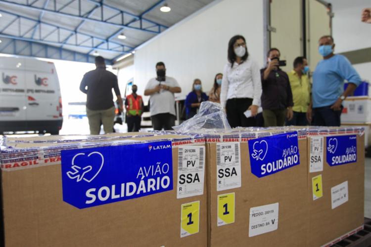 Primeira remessa para a Bahia tem 26.910 doses | Foto: Camila Souza | Gov-BA - Foto: Camila Souza | GOV BA