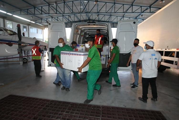Do total de doses, 246.300 mil foram produzidas pela Fiocruz e 51 mil pelo Butantan I Foto: Divulgação | Gov-BA - Foto: Divulgação | Gov-BA