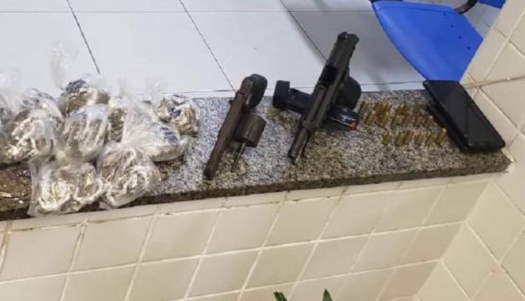 Material apreendido seguirá para perícia no Departamento de Polícia Técnica   Foto: Divulgação   Polícia Civil - Foto: Divulgação   Polícia Civil