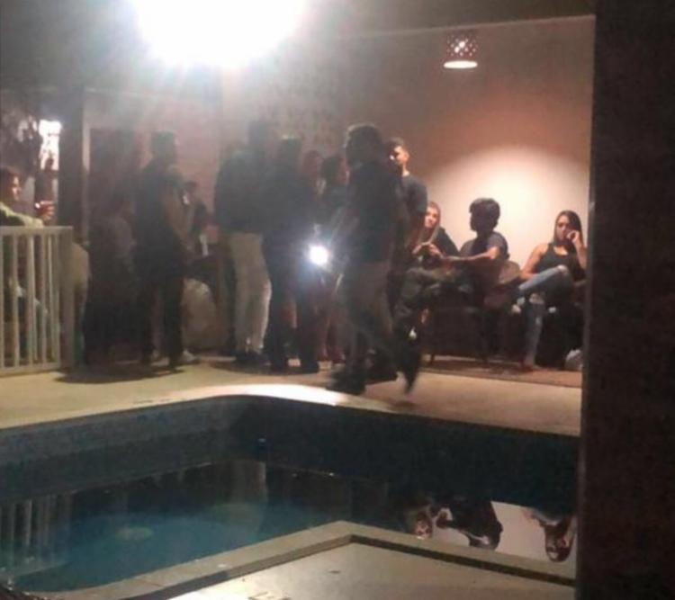 Evento aconteceu em um sítio, no município de Vitória da Conquista, no Sudoeste baiano. - Foto: Divulgação: SSP