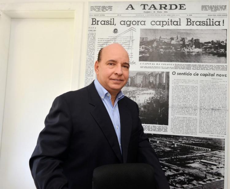 Segundo o diretor do Grupo, Luciano Neves, Webinar faz parte de um projeto de interiorização de A TARDE   Foto: Shirley Stolze   Ag. A TARDE