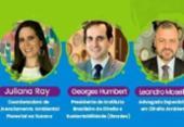 Mesa-redonda debate insegurança jurídica no desenvolvimento sustentável   Foto: Divulgação