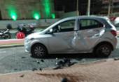 Motociclista morre após colisão com carro em Amaralina | Foto: Cidadão Repórter | Via WhatsApp