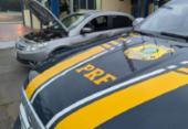 Mulher é presa por dirigir carro roubado e sem habilitação na BR-101 | Foto: Divulgação | PRF