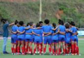 Time feminino do Bahia enfrenta Cruzeiro e será rebaixado se perder de novo | Foto: Felipe Oliveira | EC Bahia