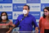 Bruno Reis avalia momento da pandemia em Salvador e comemora queda de casos | Foto: Valter Pontes | Divulgação