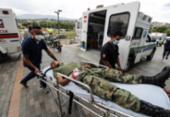 Ataque terrorista contra militares na Colômbia deixa 36 feridos | Foto: Schneyder Mendoza | AFP