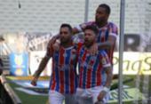 Com dois de Gilberto, Bahia vence o Ceará de virada na Arena Castelão | Foto: Rafael Machaddo | EC Bahia