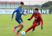 Bahia tem treino técnico na Cidade Tricolor para duelo contra o Furacão | Foto: Felipe Oliveira | EC Bahia