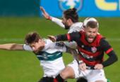 Vitória não segura Coritiba e perde a primeira sob o comando de Ramon Menezes | Foto: Chiara Neiva | EC Vitória