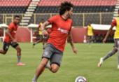 Ramon dá ênfase às bolas paradas em último treino na Toca | Foto: Pietro Carpi | EC Vitória
