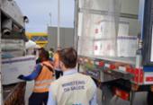 Novo lote com 300 mil doses da vacina da Janssen chega ao Brasil | Foto: Divulgação | Ministério da Saúde