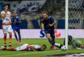 Juazeirense perde para o Cruzeiro e sai atrás em disputa pela Copa do Brasil   Foto: Gustavo Aleixo   Cruzeiro