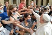 Papa Francisco aparece sem máscara em vídeo compartilhado por Bolsonaro | Foto: Assessoria | Vaticano