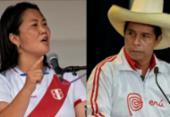 Peruanos vão às urnas neste domingo para escolher novo presidente | Foto: Cesar Bazan e Martin Mejia/AFP