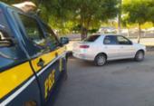 PRF recupera veículo roubado na BR-242 | Foto: Divulgação | PRF