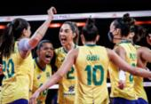 Vôlei: seleção feminina decide título da Liga das Nações contra os EUA | Foto: Reprodução Twitter | CBV