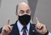 Após discussão com Flávio Bolsonaro, Witzel abandona CPI da Covid | Foto: Jefferson Rudy | Agência Senado
