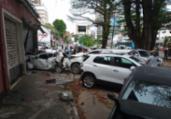 Acidente com cinco veículos deixa trânsito lento   Rafael Martins / A Tarde