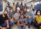 Banda Agentes do Metrô grava clipe com Léo Estakazero | Divulgação | CCR