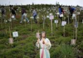 Colômbia supera 100.000 mortos por novo coronavírus   Raul Arboleda   AFP